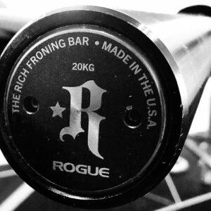 Rogue Athlete Cerakote Ohio Bar - Froning Edition