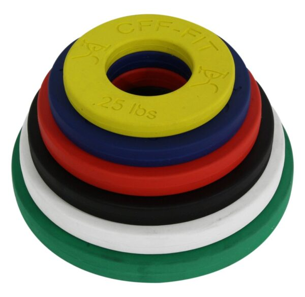 CFF Competition Rubber Fractional Weight Plates