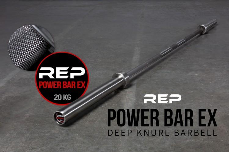 Rep Deep Knurl Power Bar EX