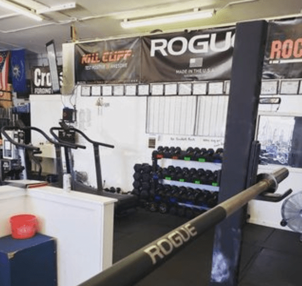 Rogue Olympic WL Bar - Stainless Steel