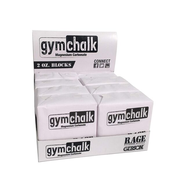 Gibson Athletic Premium Block Gym Chalk