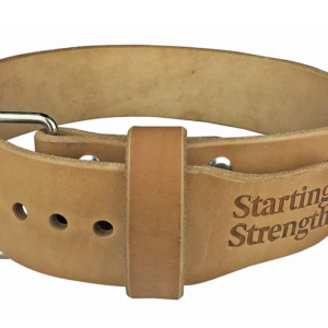 Dominion 3-Inch Starting Strength Leather Belt