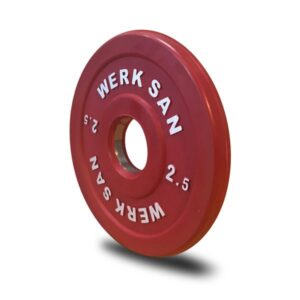 Werksan IWF Competition Rubber Fractional Plates