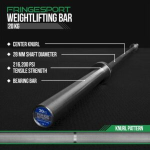 FringeSport Olympic Weightlifting Barbell