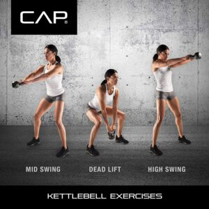CAP Barbell Cast Iron Kettlebell