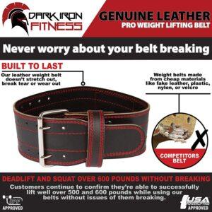 Dark Iron Fitness Power Belt