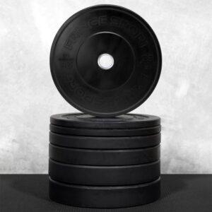 FringeSport Black Bumper Plates