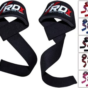 RDX Weight Lifting Straps with Padded Wrist Support