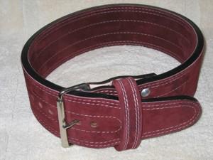 Best Belts Prime Cut Suede Powerlifting Belt