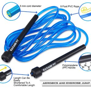 Garage Fit 9' Adjustable PVC Jump Rope