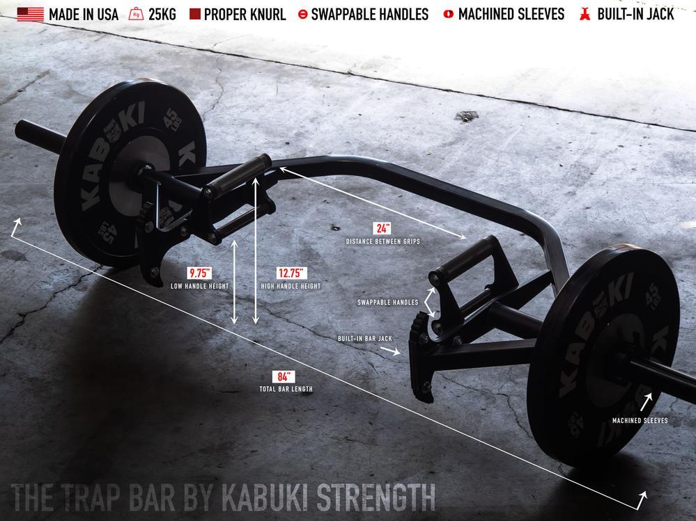 Kabuki Strength Trap Bar