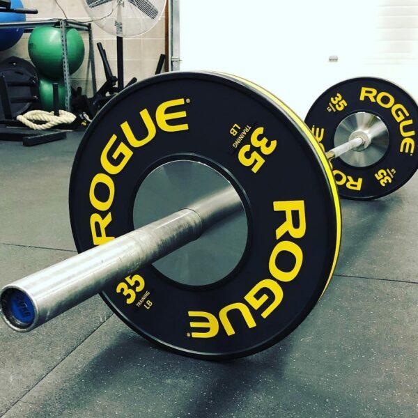 Rogue LB Black Training Bumper Plates