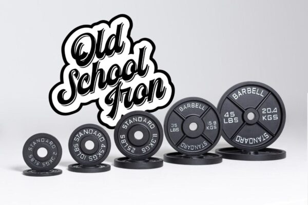 REP Old School Iron Weight Plates