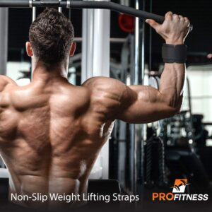 ProFitness Weight Lifting Straps