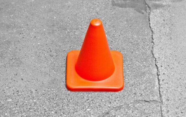 "Powermax 4"" Cone Marker"