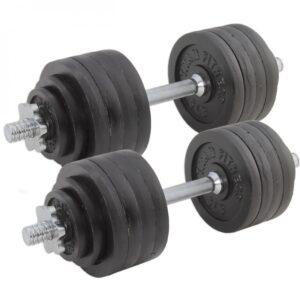 Titan Adjustable Cast Iron Dumbbells
