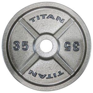 Titan Cast Iron Olympic Weight Plates