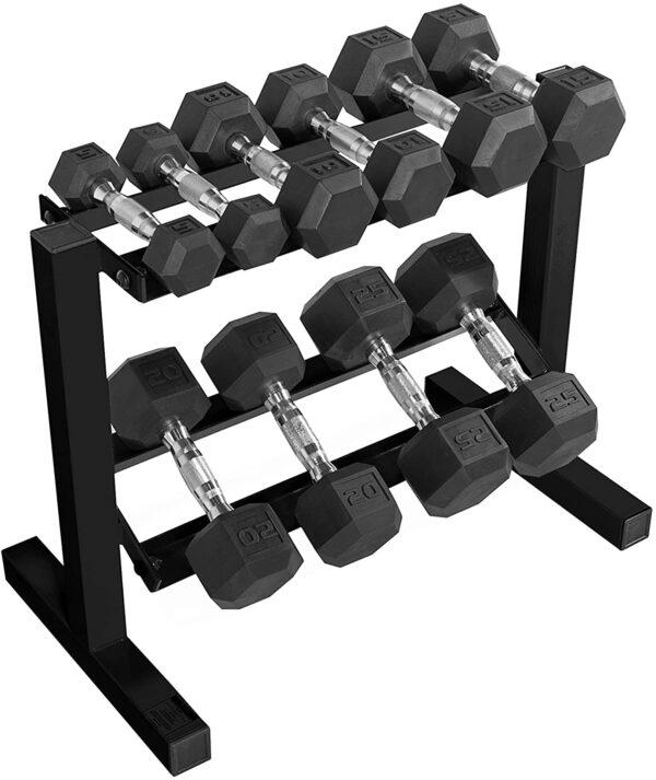CAP Barbell 150-Pound Dumbbell Set