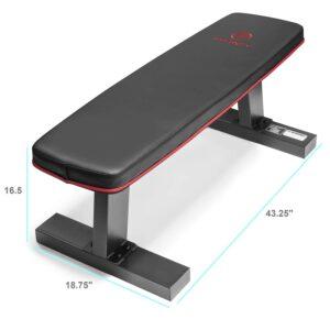 Marcy Deluxe Versatile Flat Bench