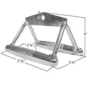 Titan Chrome Close Grip Row Bar