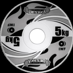 Uesaka IWF Competition Metal Plates