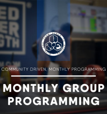 Barbell Medicine Monthly Group Programming