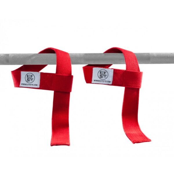 EliteFTS Red Lifting Straps