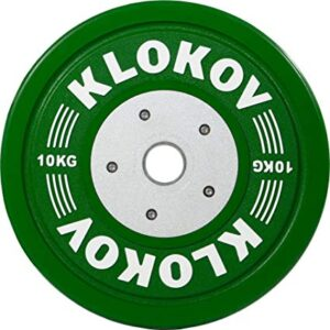 Klokov Olympic Competition Bumper Plates