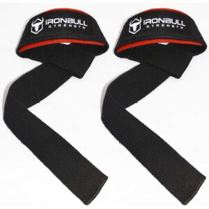 Iron Bull Strength Wrist and Lifting Straps Combo