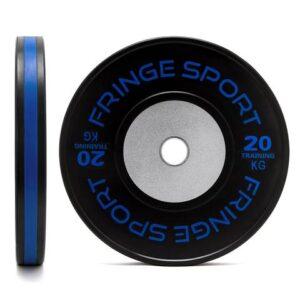 FringeSport KG Black Training Competition Bumper Plates