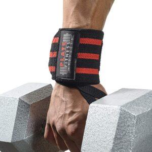 Plate Fitness Wrist Wraps