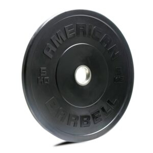 American Barbell Black KG Sport Bumper Plates