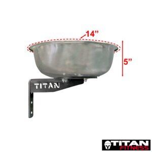 Titan Mounted Chalk Bowl