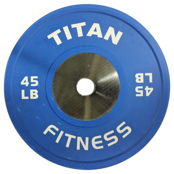 Titan Color Elite LB Bumper Plates