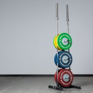REP Bar and Bumper Plate Tree