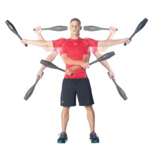 Ultimate Body Press Indian Clubs