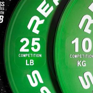 Rep Competiton LB Bumper Plates