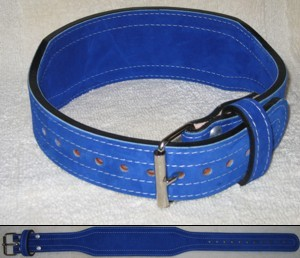 Best Belts Tapered Suede Powerlifting Belt