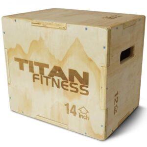 Titan 3-in-1 Plyometric Box