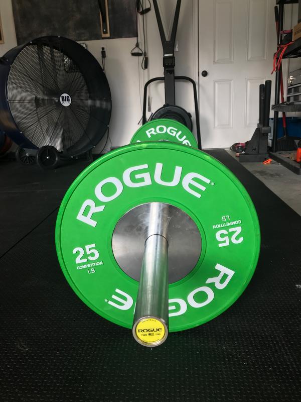 Rogue 25MM Training Bar - Cerakote
