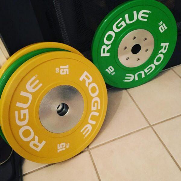 Rogue Color KG Training 2.0 Bumper Plates