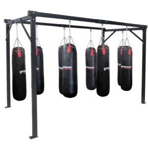Titan Heavy Duty 8 Bag Boxing Stand