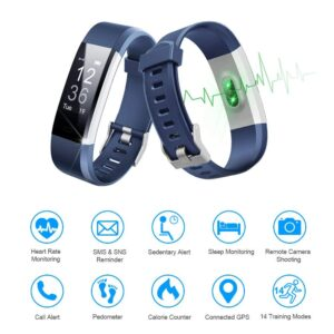 LETSCOM ID115Plus HR Fitness Tracker