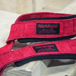 Harbinger Padded Leather Lifting Straps