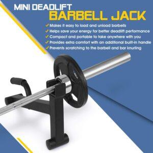 Yes4All Mini Deadlift Barbell Jack
