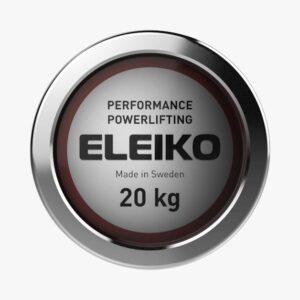 Eleiko Performance Powerlifting Bar 20KG