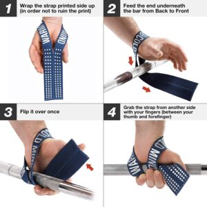 Warm Body Cold MInd Lifting Straps
