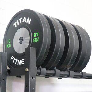 Titan Black Elite KG Bumper Plates