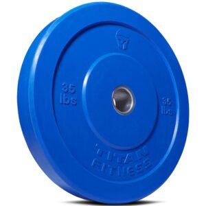 Titan Fitness Economy Color Bumper Plates
