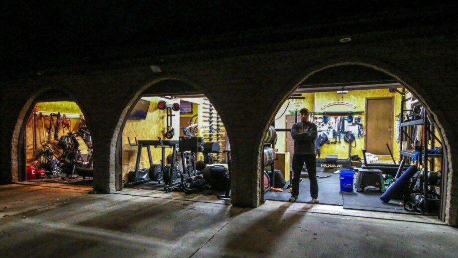 Coop's Garage Gym Tour